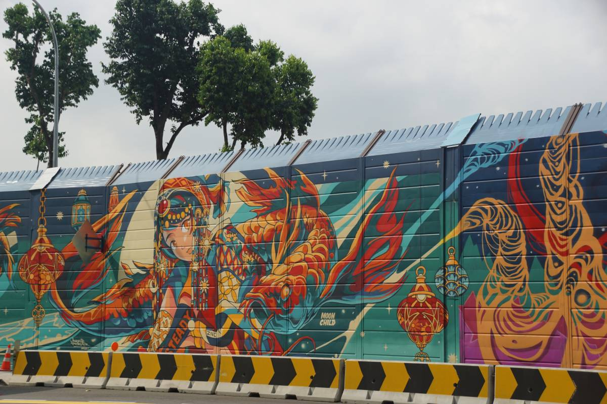 One Kampong Gelam Presents Southeast Asia's First Official Graffiti Hall of Fame
