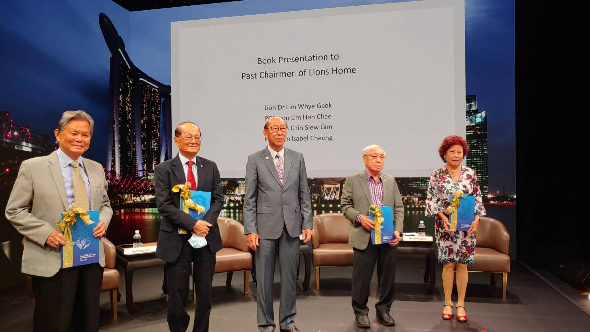 Lions Home for The Elders Launches 40th Anniversary Commemorative Book