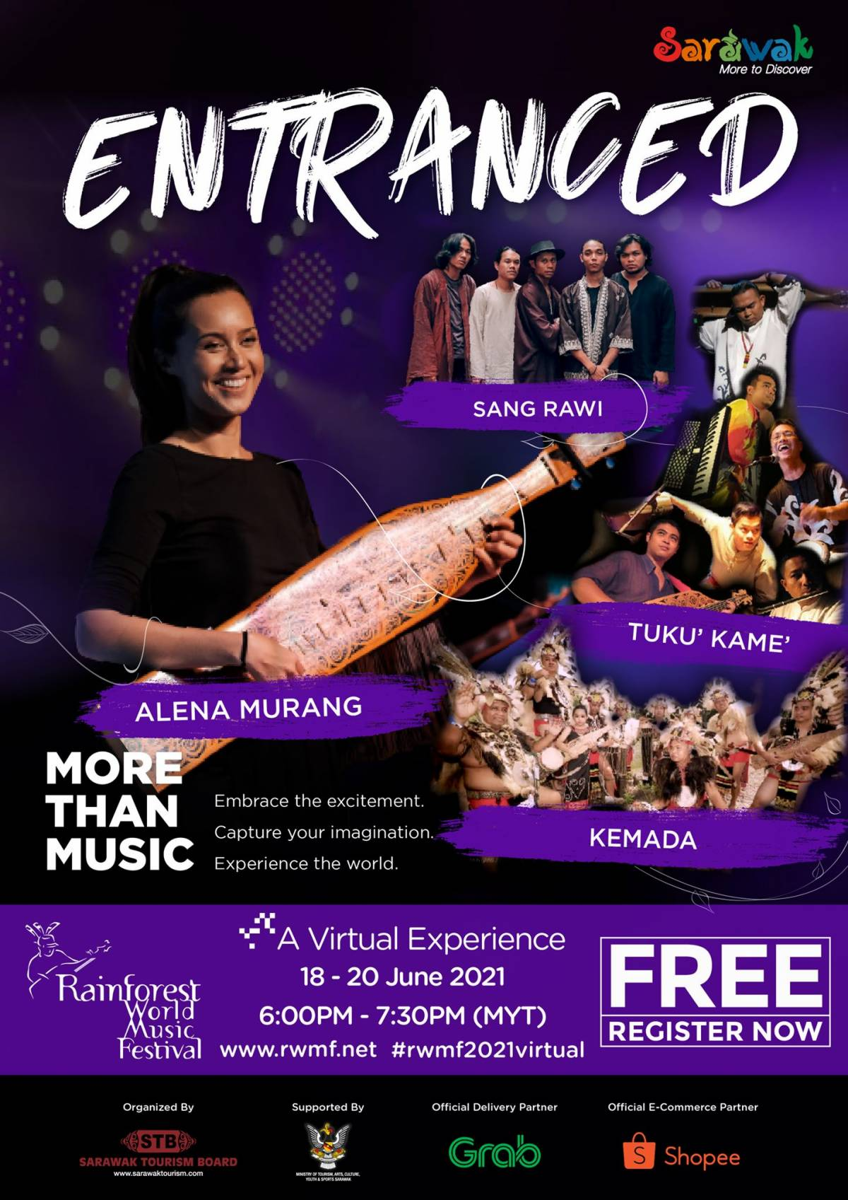 Mark your calendars for the virtual experience of the Rainforest World Music Festival on June 18-20.