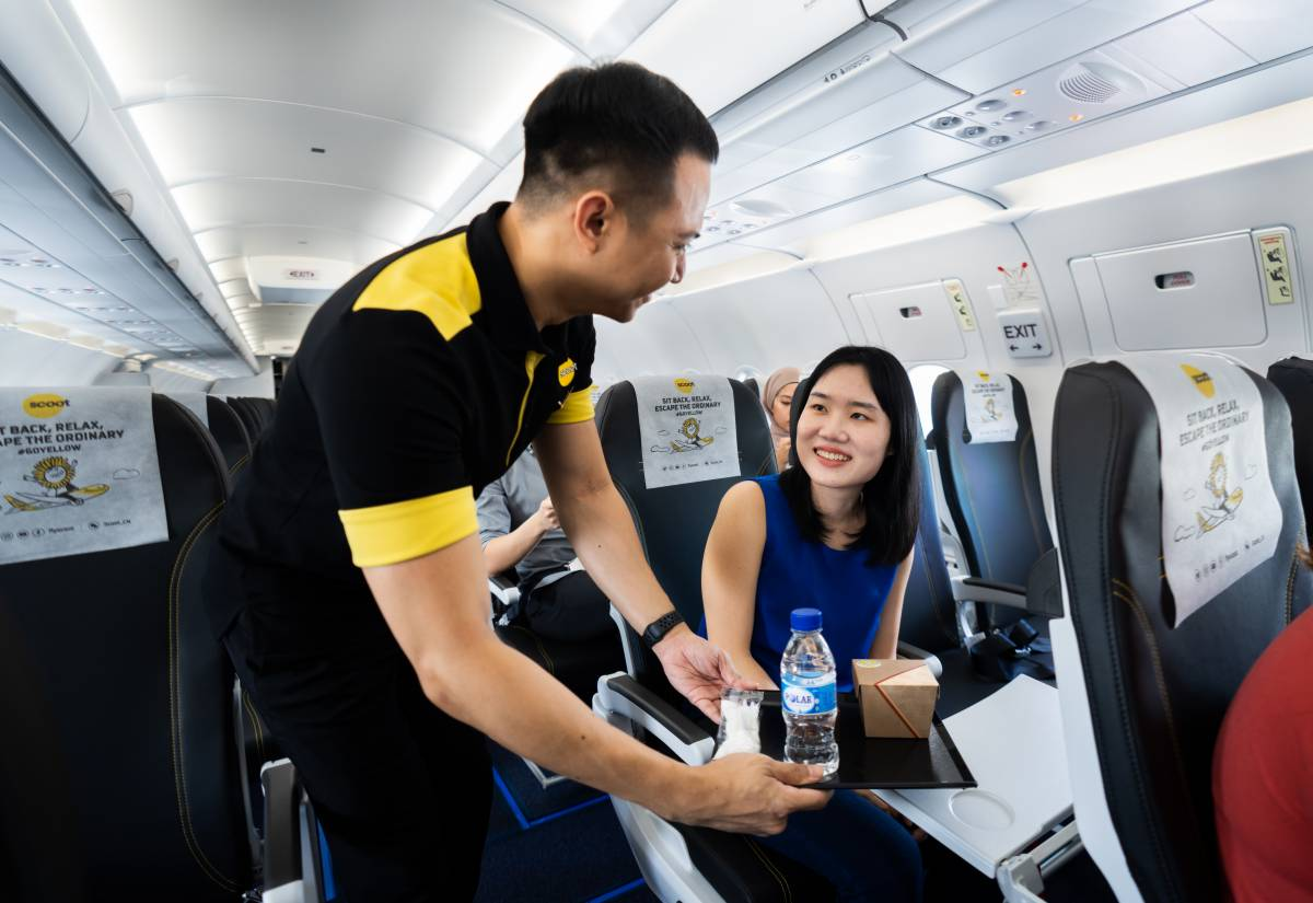 Scoot's First A321neo Aircraft Takes Flight to Bangkok