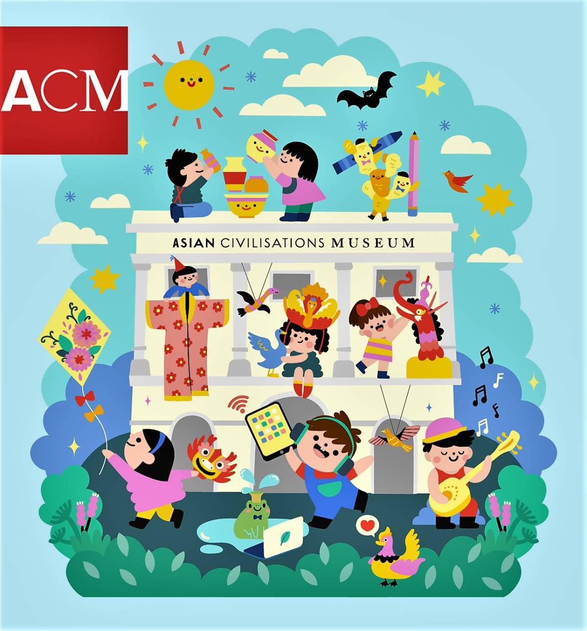September & October '21 activities at the Asian Civilisations Museum