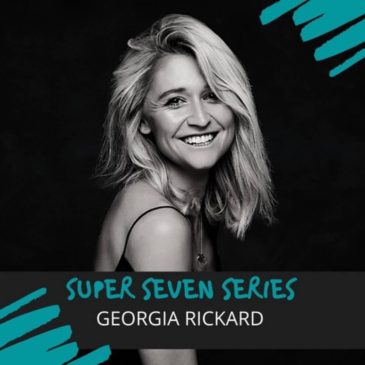 Georgia Rickard featured in Super Seven Series at TellMeWhere2Go