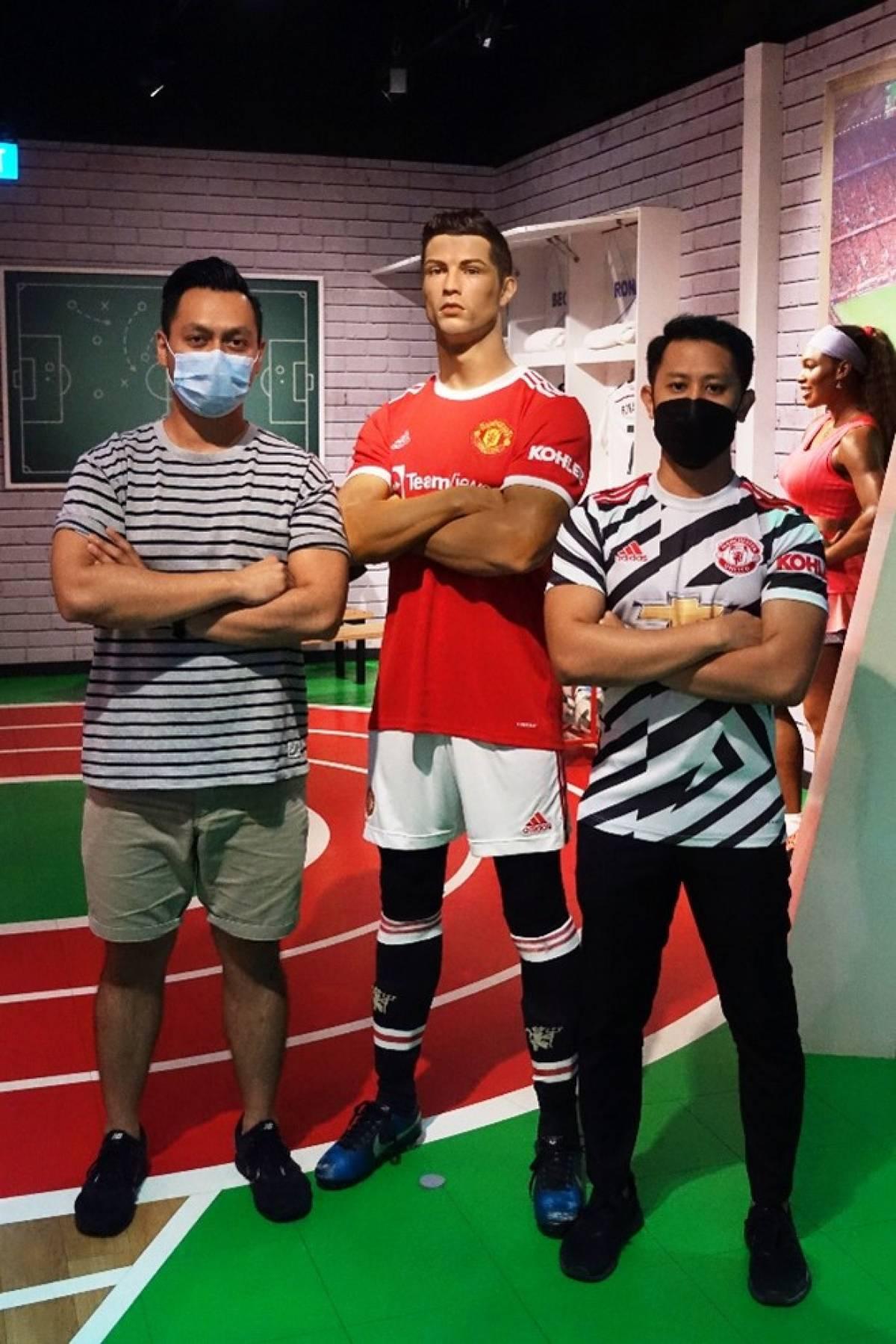 Madame Tussauds Singapore Celebrates the Return of Cristiano Ronaldo to Manchester United