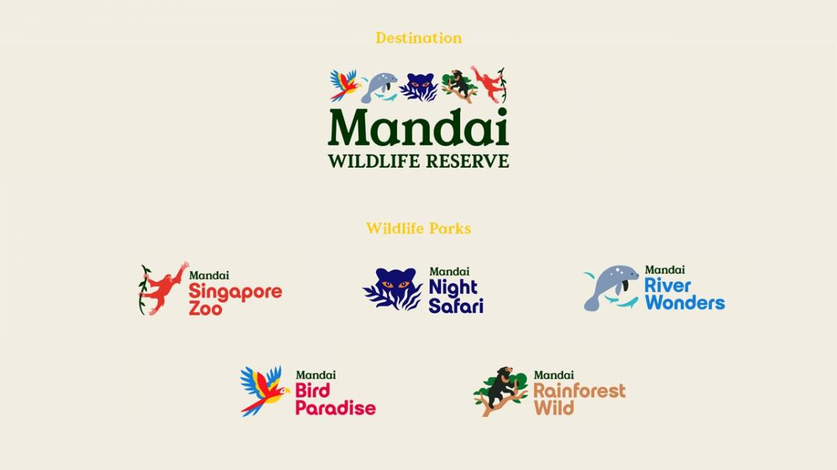 New Corporate Identity, New Names for Singapore's Wildlife Parks and a Renewed Commitment to Conservation and a Sustainable Future