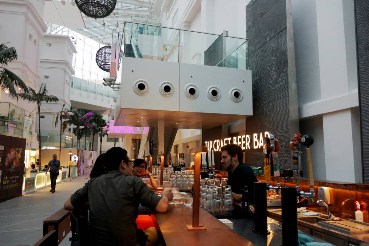 Tap Opens in Capitol Piazza