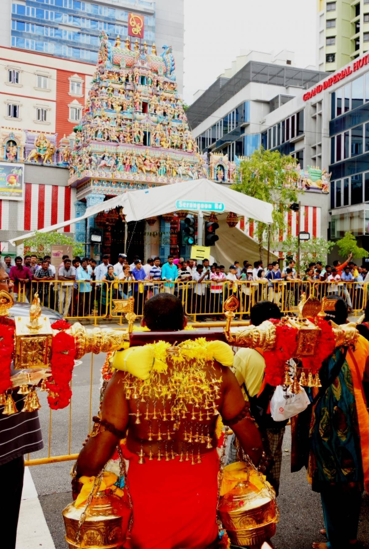 Sticking it out for Thaipusam