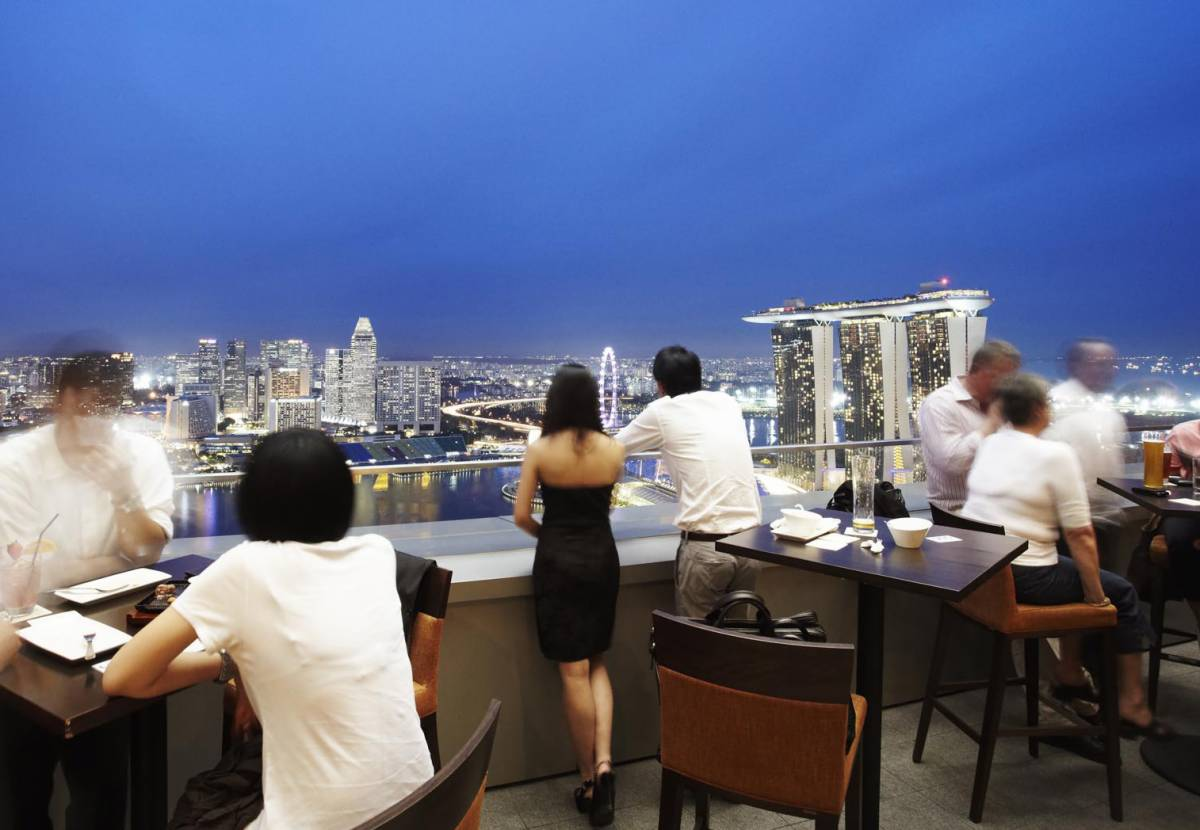 Celebrate Singapore's 51st National Day at Level 33