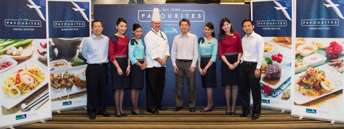 Silk Air Launches All-Time Favourites Menu