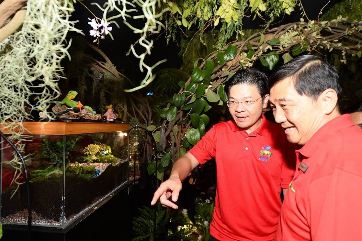 Singapore Garden Festival celebrates the community's gardening efforts