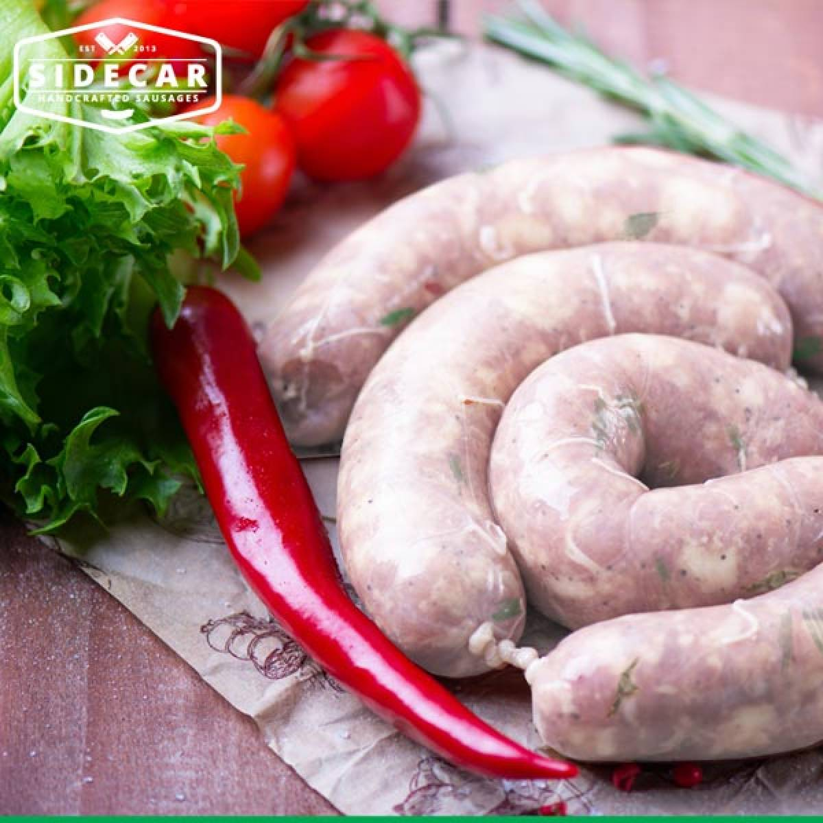 SAUCY SAUSAGES FROM SIDECAR - powerful taste in small packages