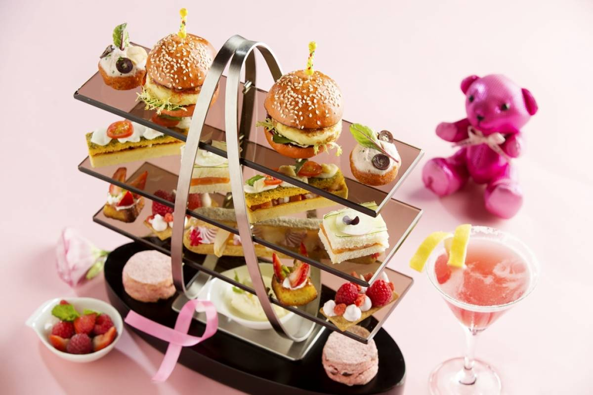 "Conrad Macao Introduces ""Pink Inspired Afternoon Tea"""