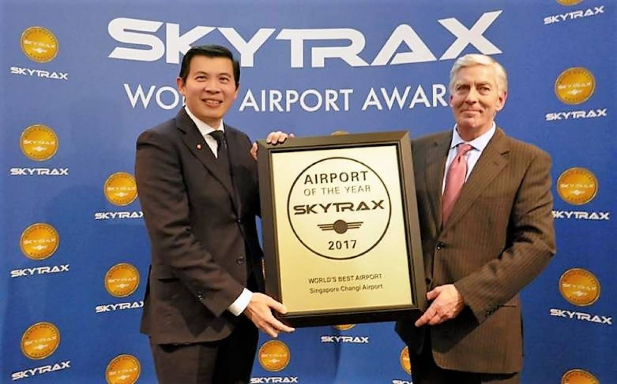 CHANGI AIRPORT IS NAMED THE WORLD'S BEST AIRPORT
