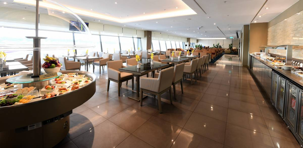 Emirates Re-Opens First and Business Class Lounge at ...