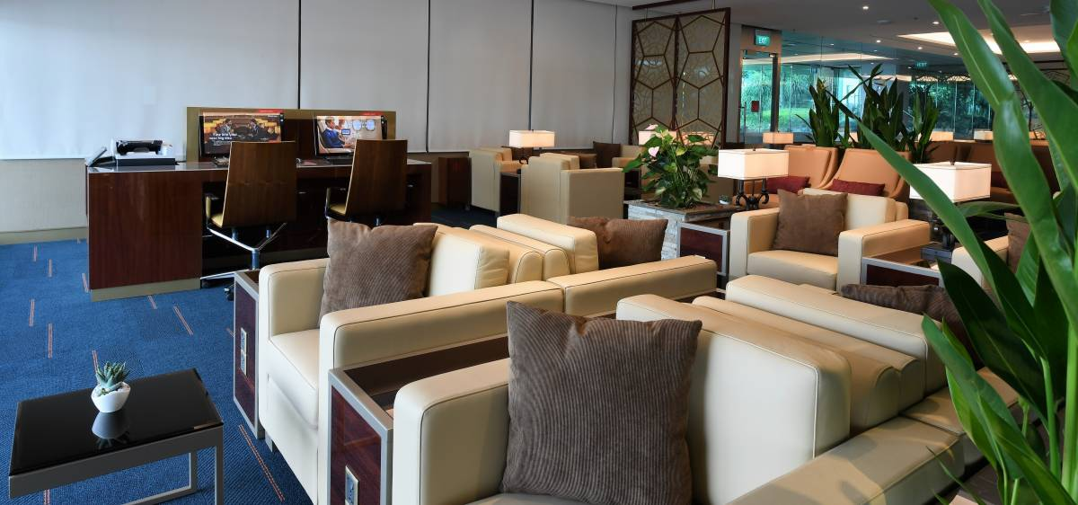 Emirates Re-Opens First and Business Class Lounge at Changi Airport, Singapore