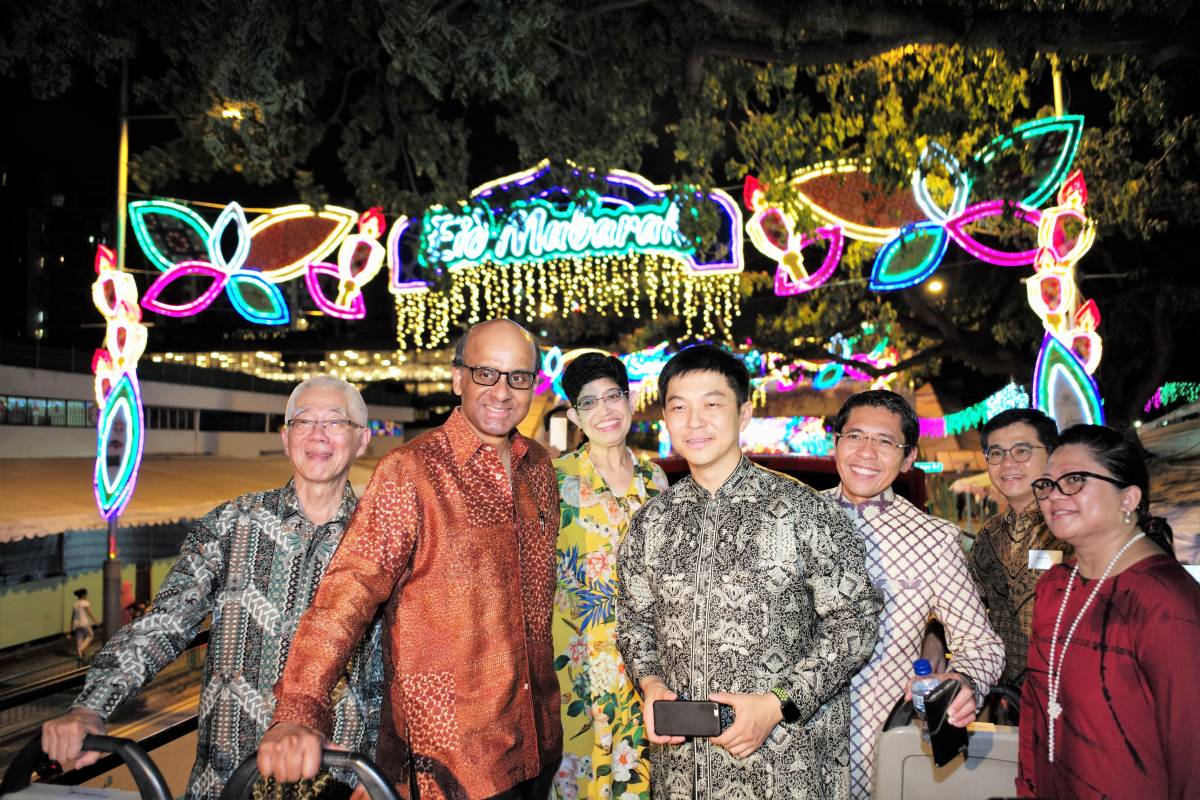 HARI RAYA LIGHT UP 2017 TO DEEPEN KAMPUNG SPIRIT WITH NEW LARGER-THAN-LIFE TRADITIONAL MALAY ICONS