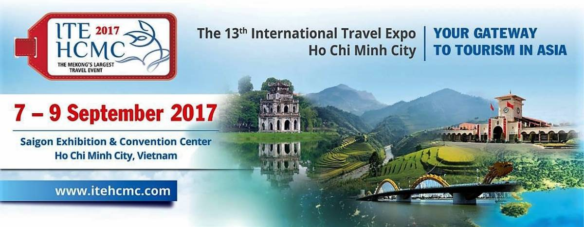 ITE HCMC 2017 – The Largest & Most Established Travel Event in Vietnam
