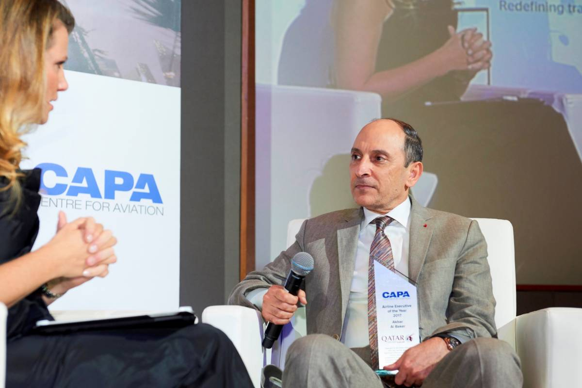 Qatar Airways Group Chief Executive Named 'Aviation Executive of the Year'