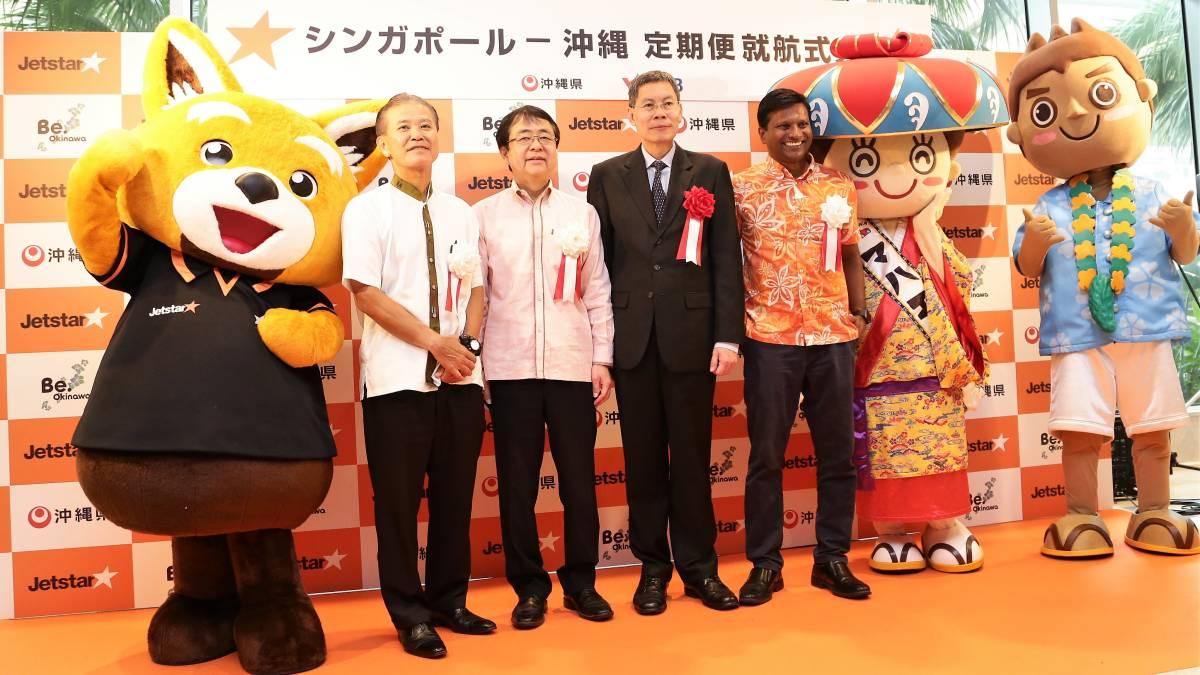 Jetstar Asia operates inaugural flight to Okinawa