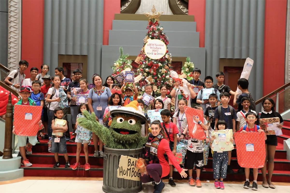 Resorts World Sentosa Celebrates aRWSome Wishes