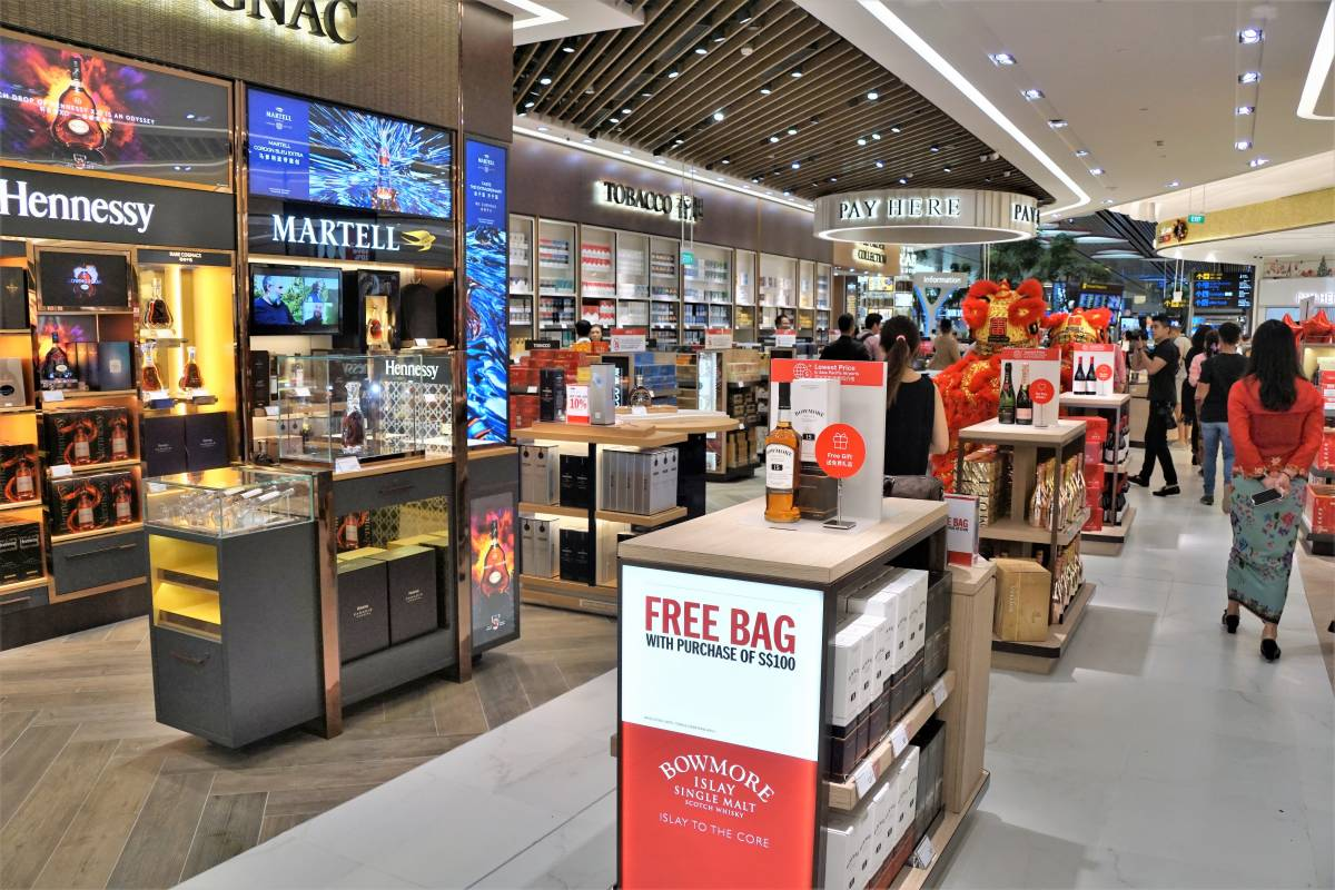 DFS CHANGI OFFERS 10 PERCENT DISCOUNT TO ARRIVING PASSENGERS