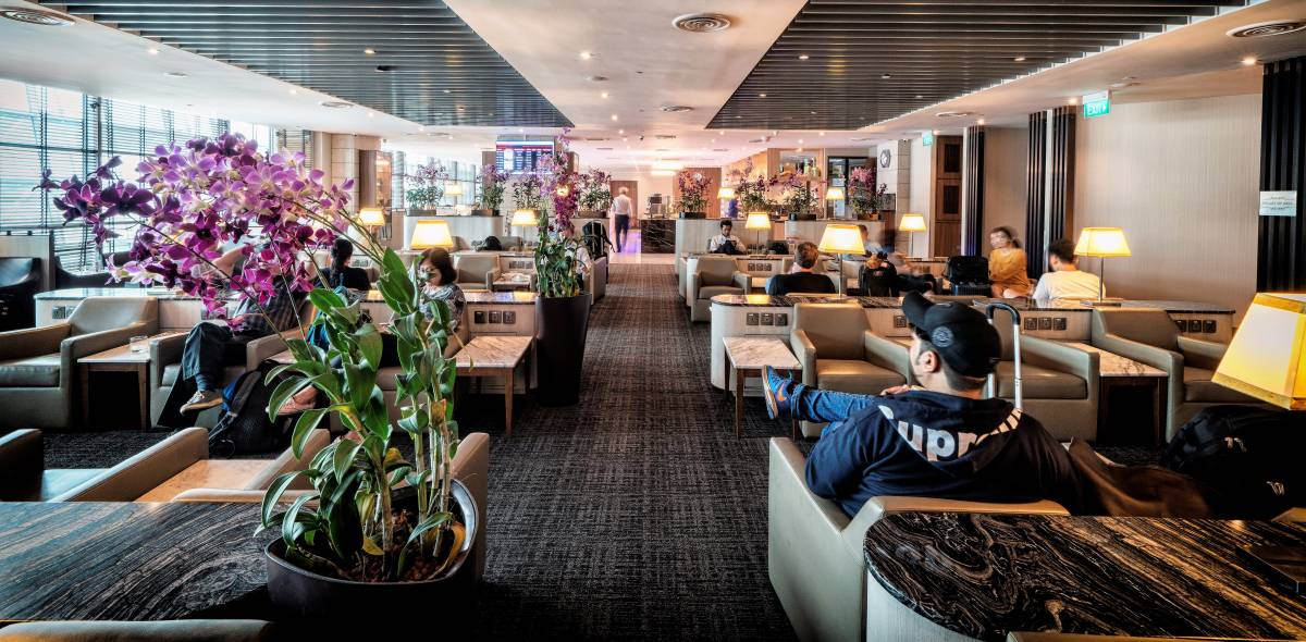 SATS Premier Lounge at Singapore Changi International Wins