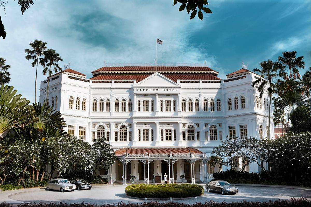 RAFFLES HOTEL SINGAPORE CLOSES TO COMMENCE THIRD PHASE OF RESTORATION