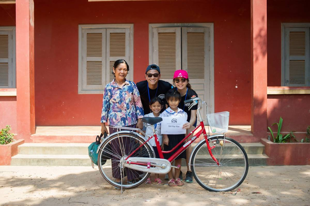 Shinta Mani Collaborates with Wheels for HOPE Singapore