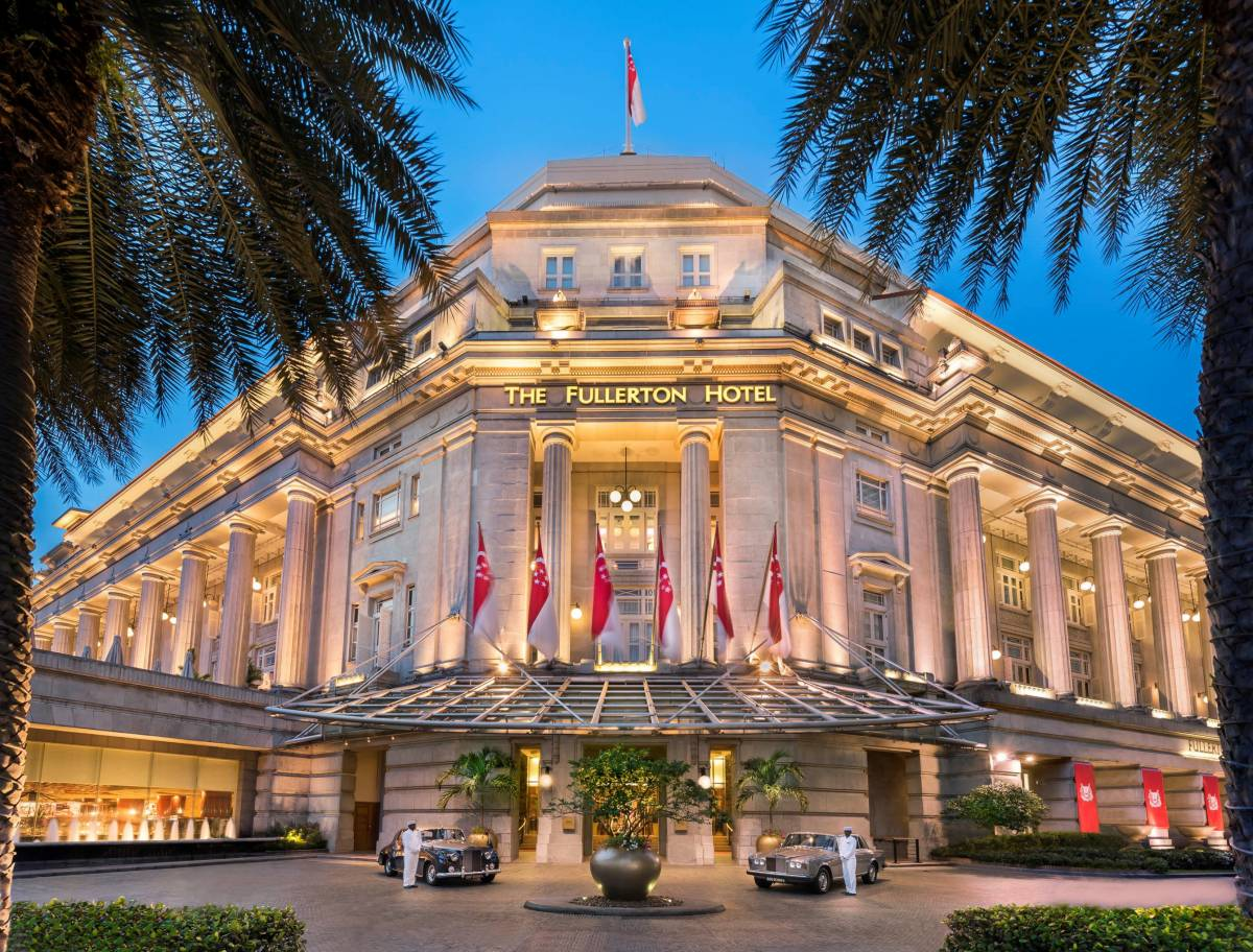 "Stay at The Fullerton Hotel Singapore with the ""Fullerton 90th Anniversary Package"""