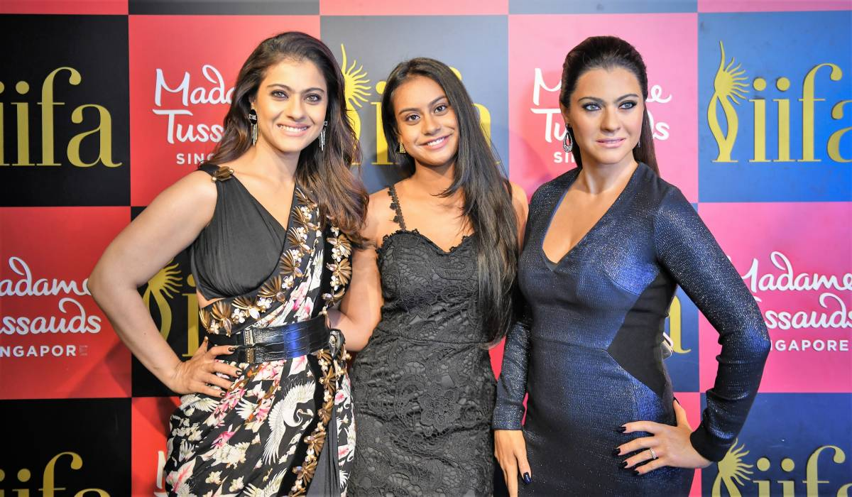 Bollywood star Kajol visits Madame Tussauds Singapore to unveil her wax figure