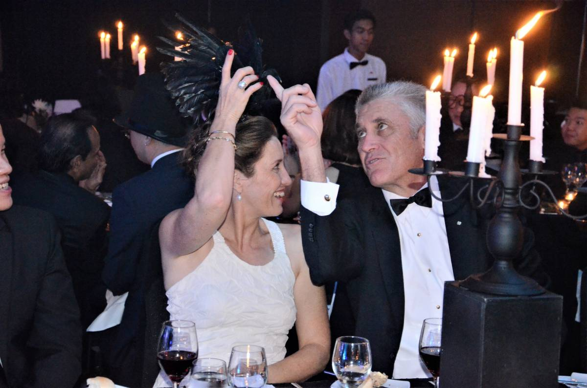G Hotel's Ghost Ball 2018
